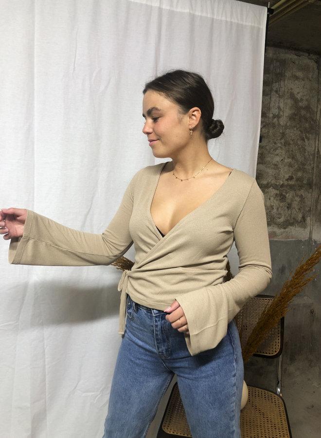 24COLOURS - Shirt - Beige (11572a)