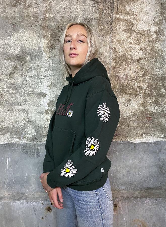 HUF WOMEN - In Bloom P/O Hoodie - Dark Green