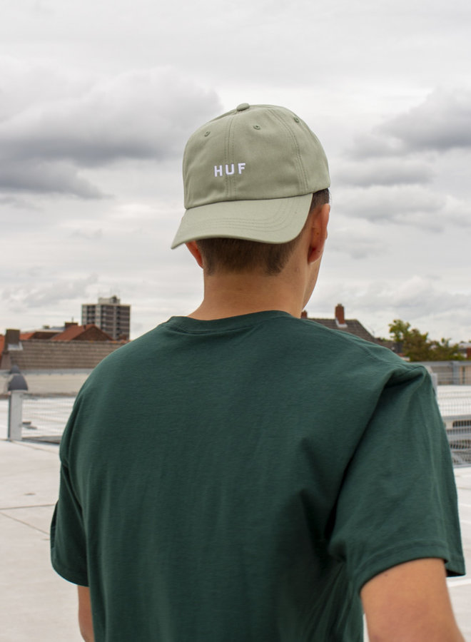 HUF - Essentials OG Logo CV 6 Panel - Basil