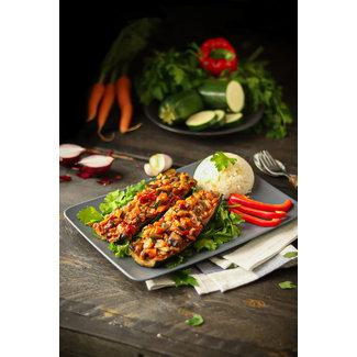 Kabak (gevulde courgette) vegentarisch