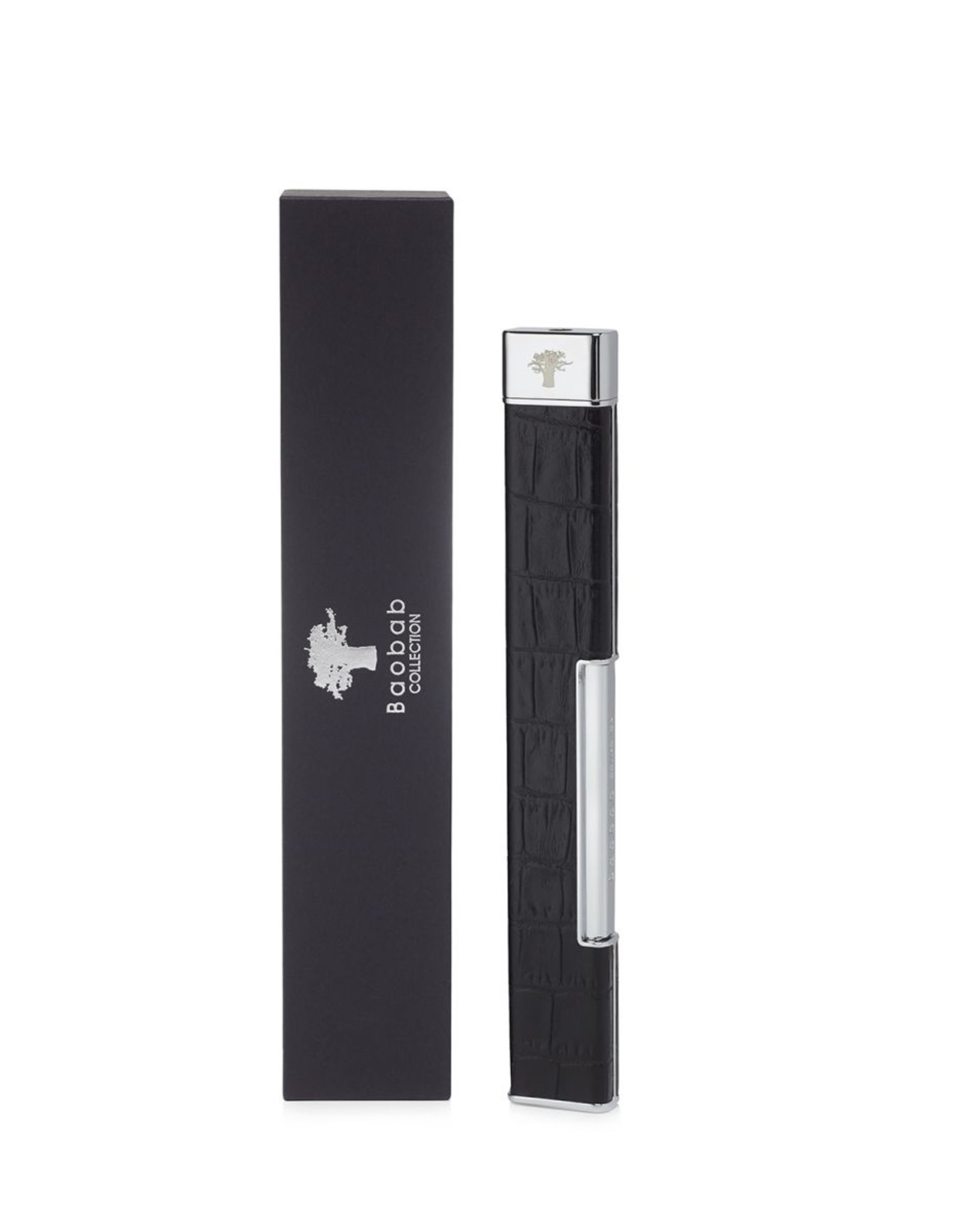Baobab LIGHTER CROCO BLACK