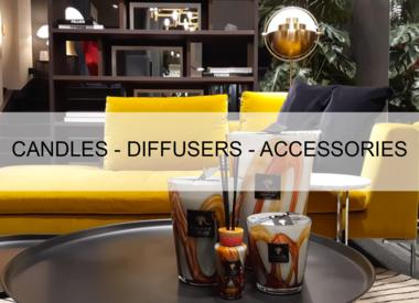 Bougies - Diffuseurs - Accessoires