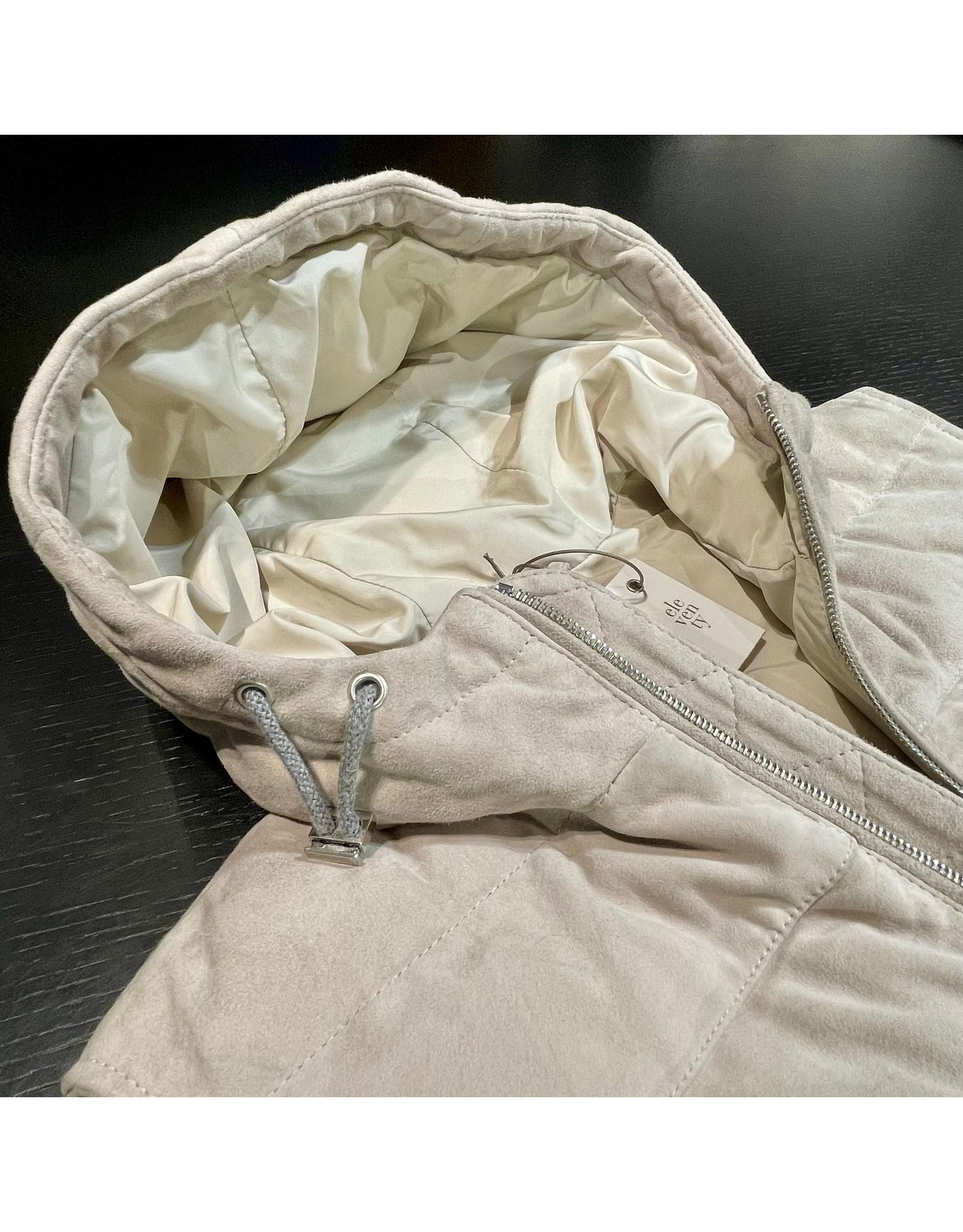 ELEVENTY Eleventy Body Suede Ivory D75GILD06 PEL0D006