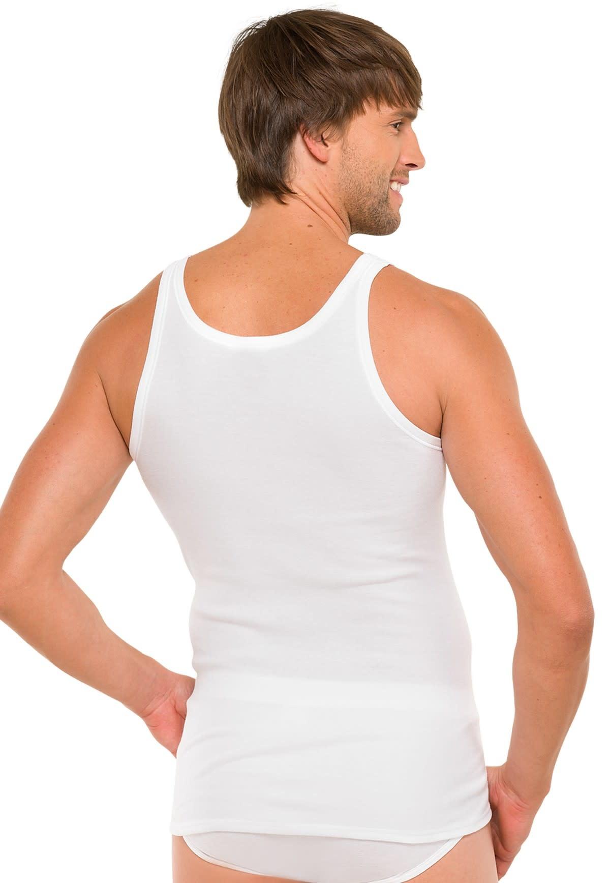 Singlet Cotton Essentials 2-Pack 205144 - wit-2