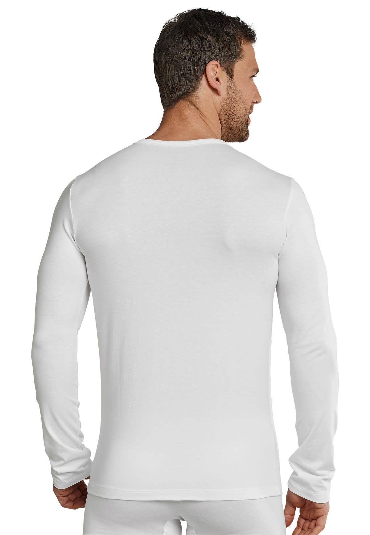 T-shirt lange mouw 95/5 205419 - wit-2