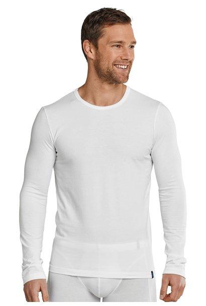 T-shirt lange mouw 95/5 205419 - wit