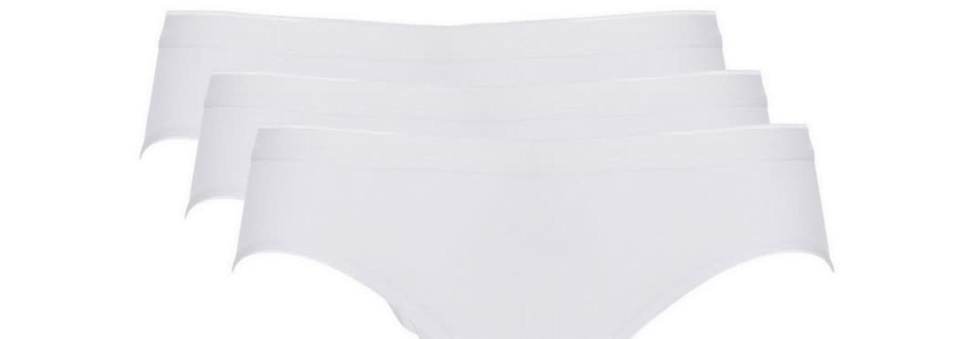 Bikini Basic 3-Pack 30195 - wit