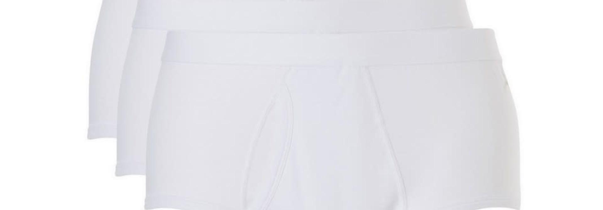 Slip met gulp Basic 3-Pack 30221 - wit