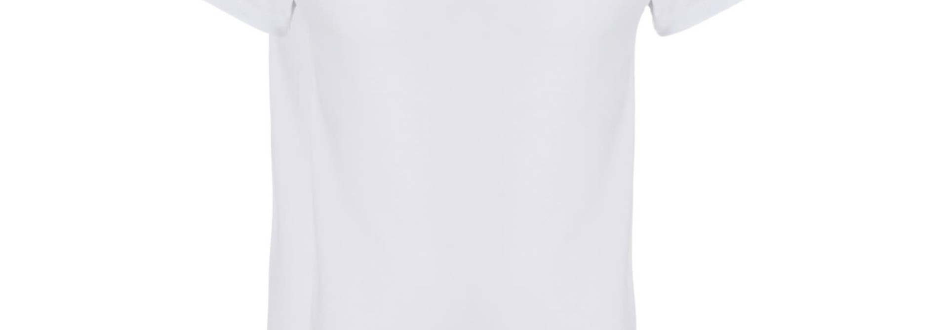 T-shirt v-hals 2-Pack 30870 - wit