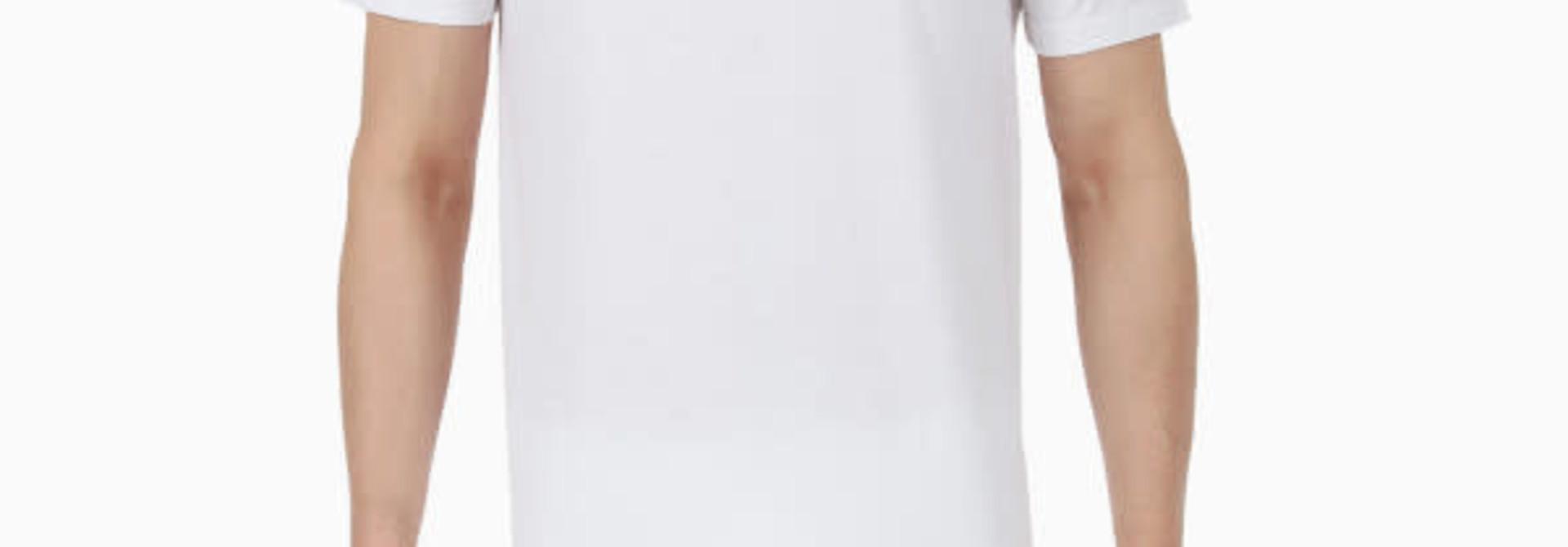 T-shirt v-hals Hilary 401556 - wit