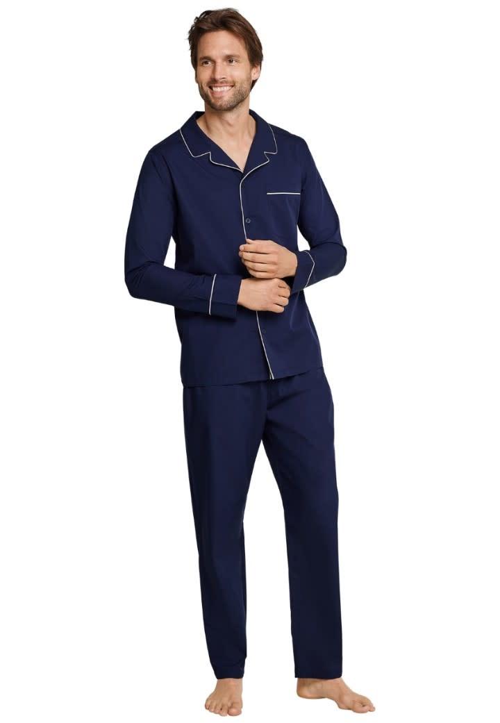 Pyjama met knopen lange mouw 163702-1