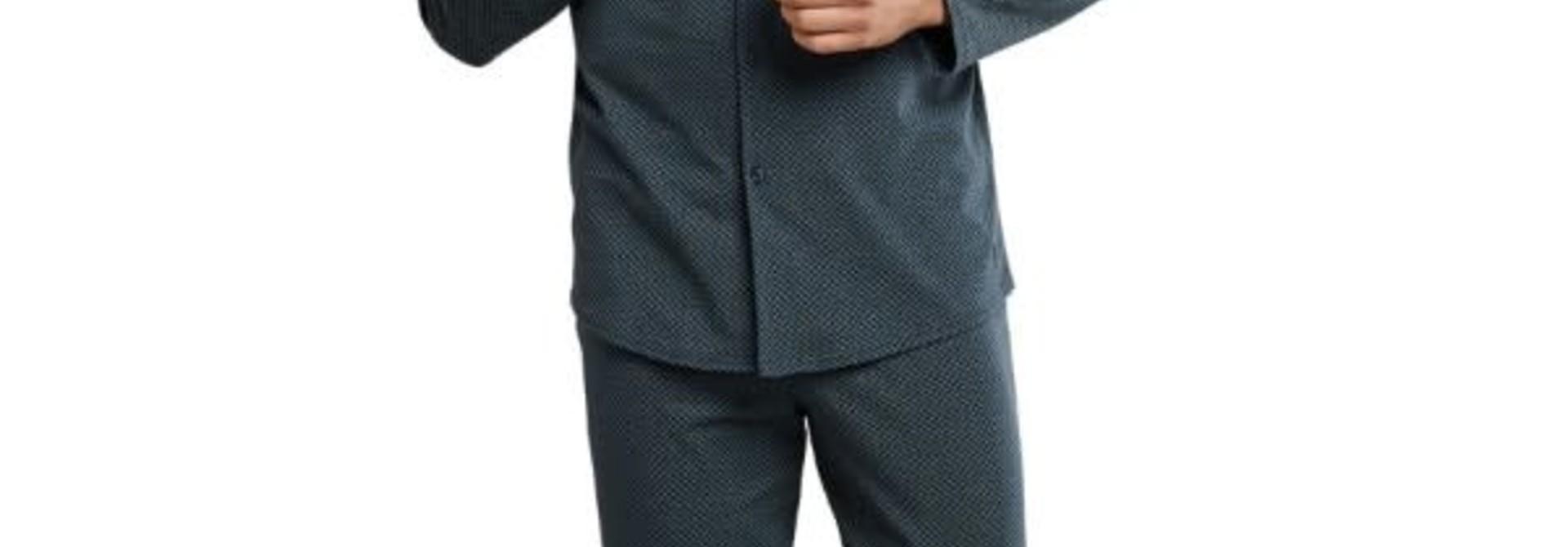 Pyjama met knopen lange mouw 167582