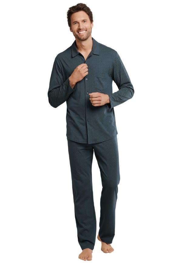 Pyjama met knopen lange mouw 167582-1