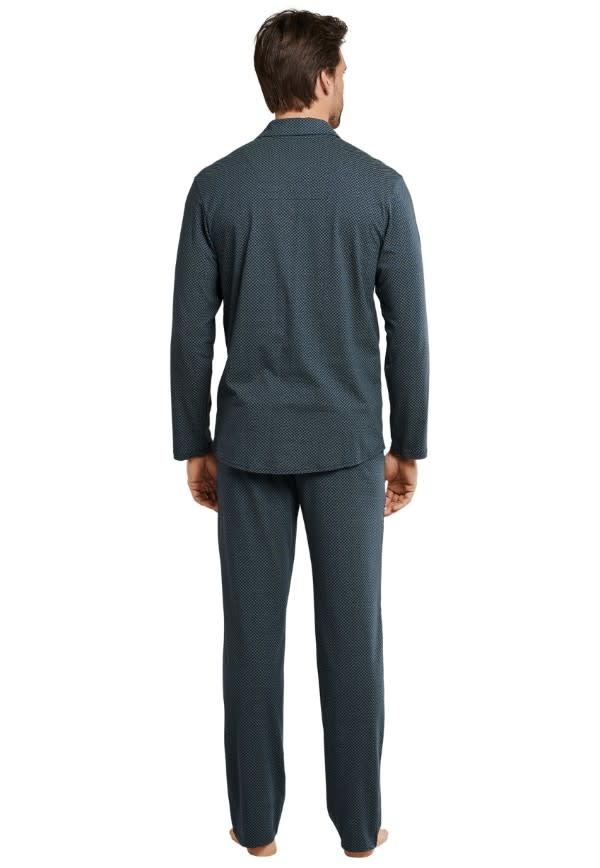 Pyjama met knopen lange mouw 167582-2
