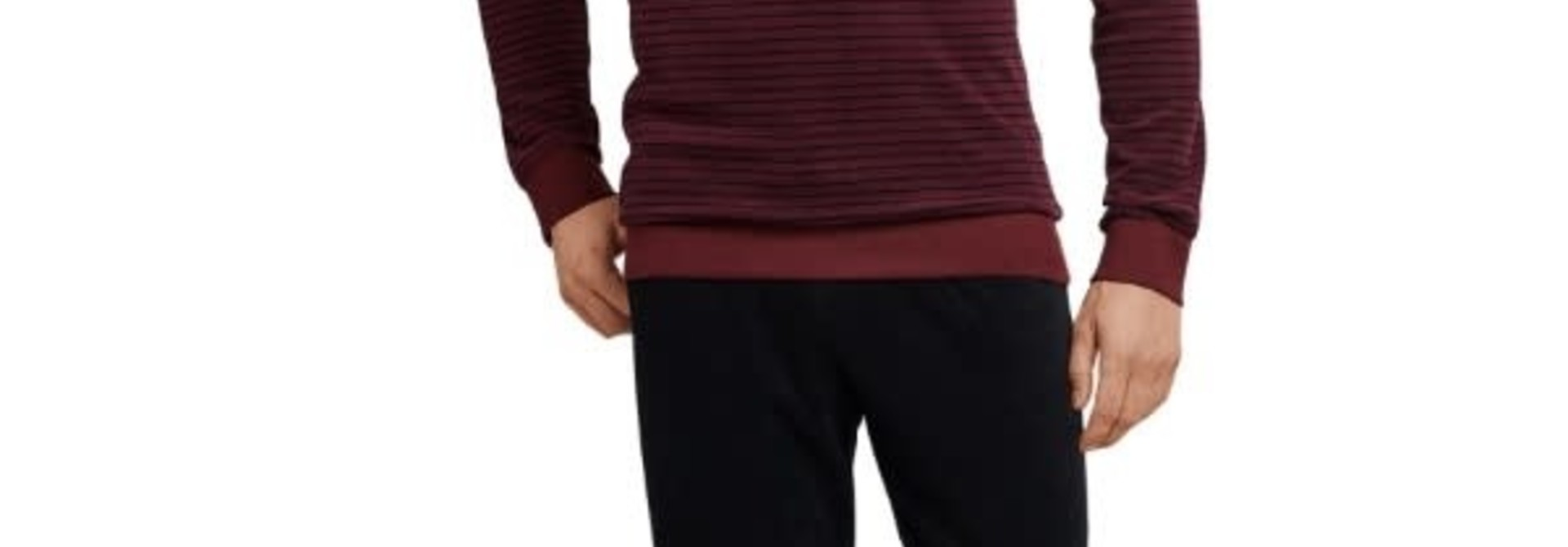 Badstof Pyjama lange mouw 168243