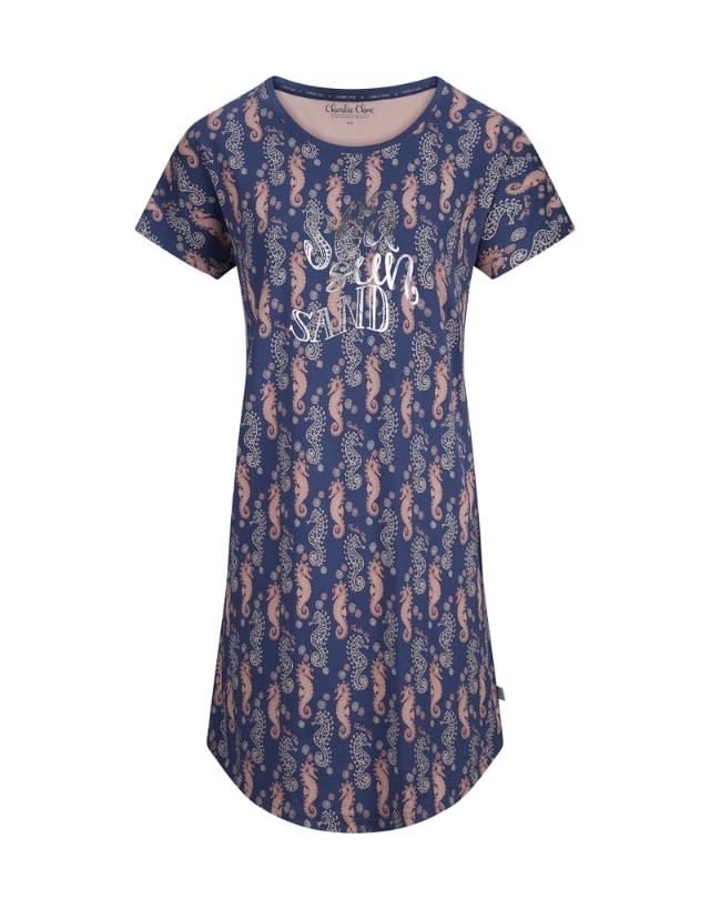 Nachthemd korte mouw 35102-2