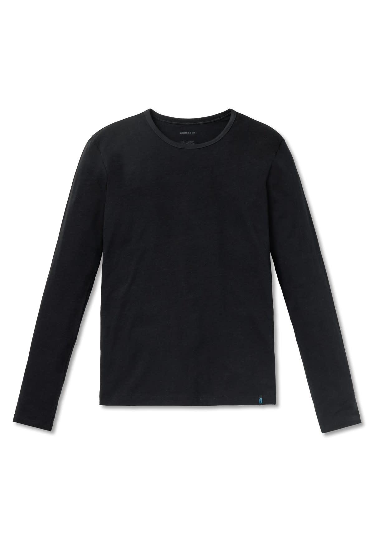 T-shirt lange mouw 95/5 205419 - zwart-3