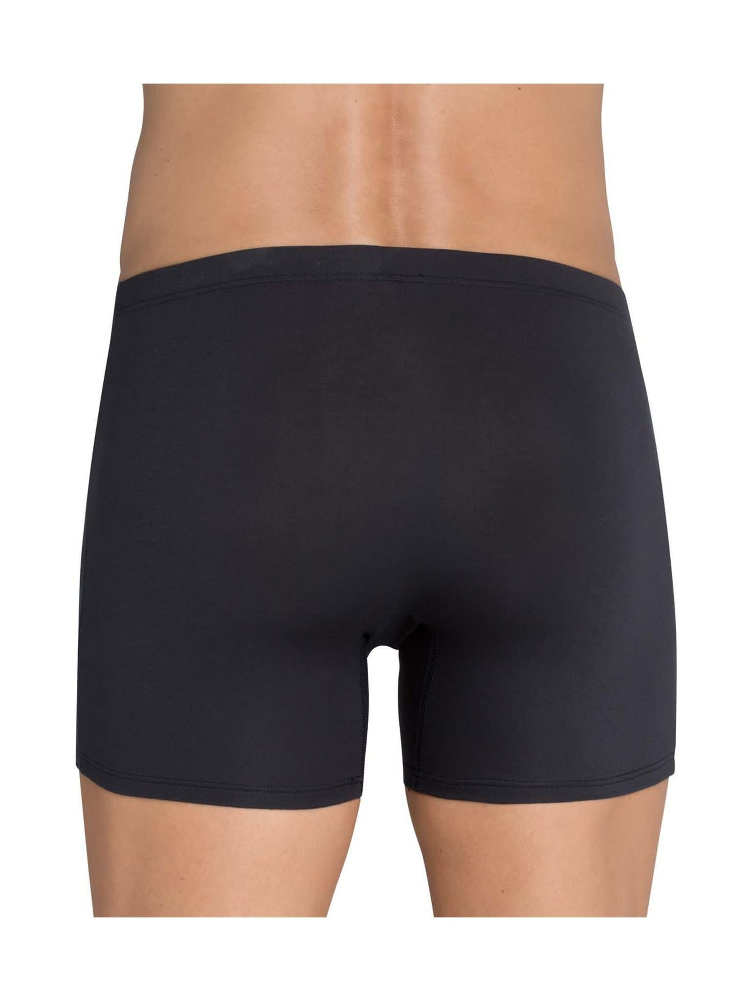 Short Basic Soft 10167209 - zwart-2