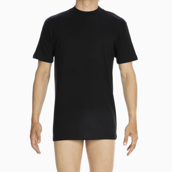 T-Shirt hoge boord Harro 405508 - zwart-1