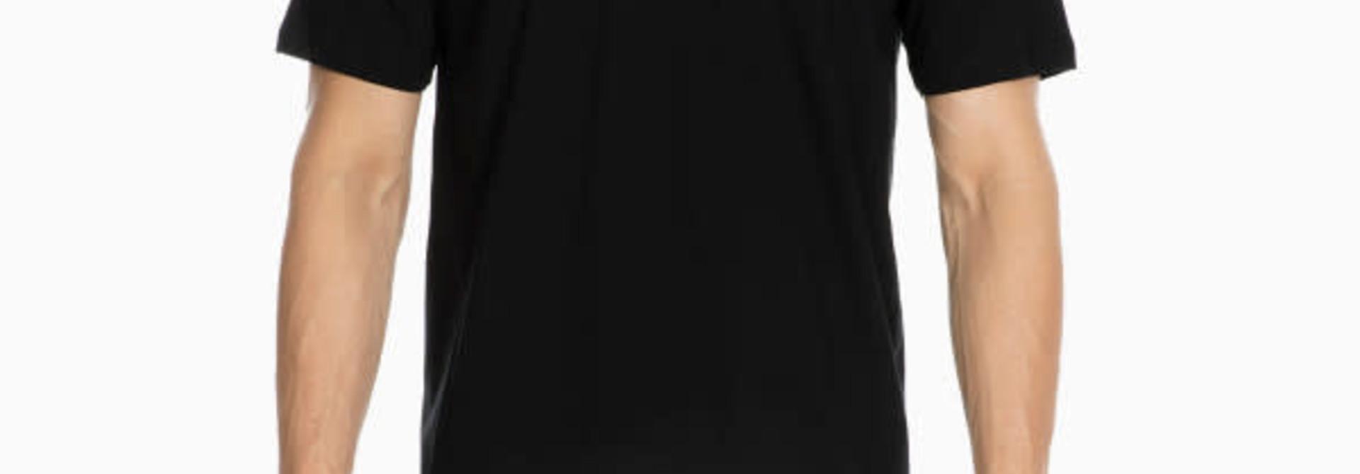 T-shirt v-hals Hilary 401556 - zwart