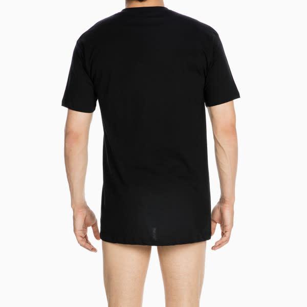 T-shirt v-hals Hilary 401556 - zwart-2