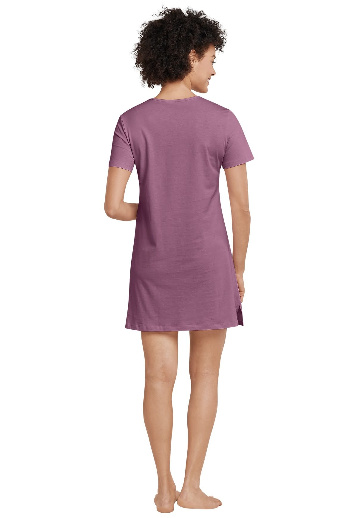 Nachthemd korte mouw 169488 - berry-2
