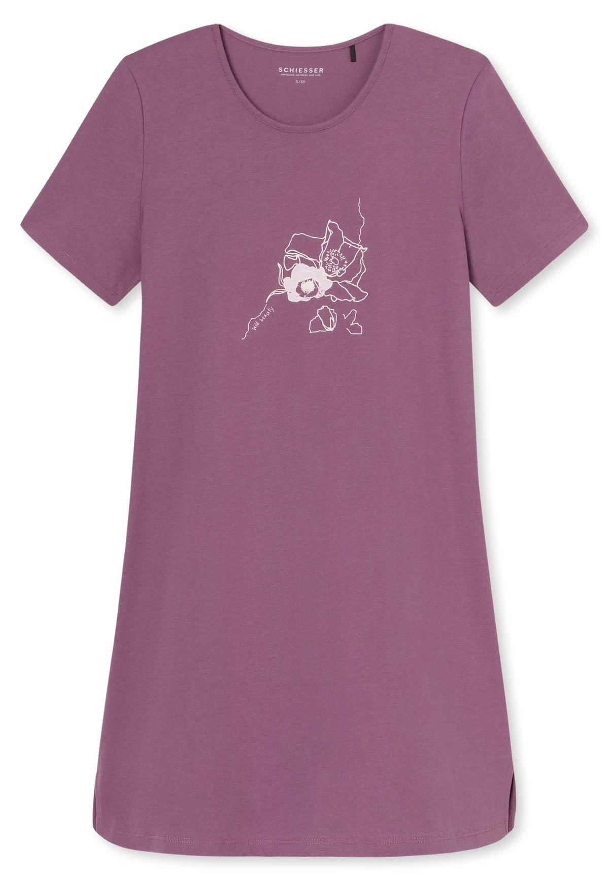 Nachthemd korte mouw 169488 - berry-3
