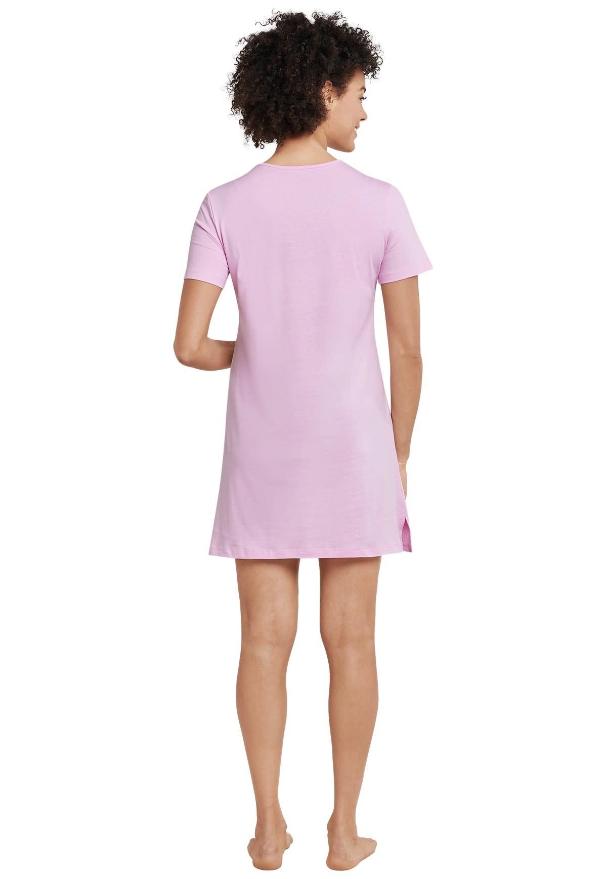 Nachthemd korte mouw 169488 - roze-2