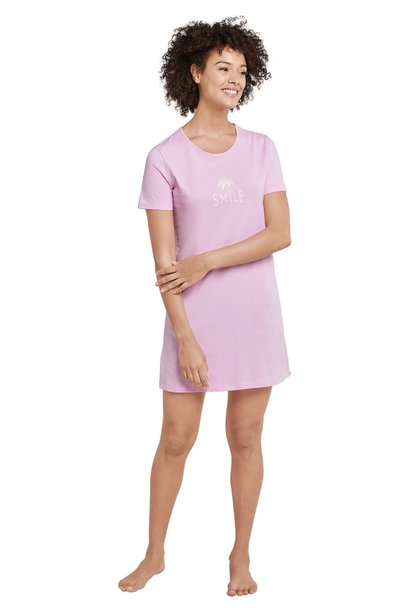 Nachthemd korte mouw 169488 - roze
