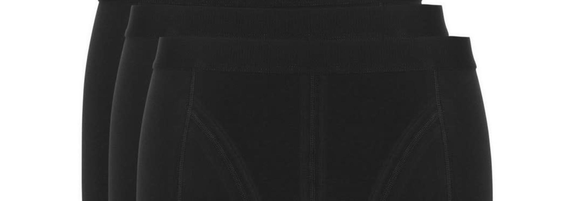 Short Basic 3-Pack 30222 - zwart