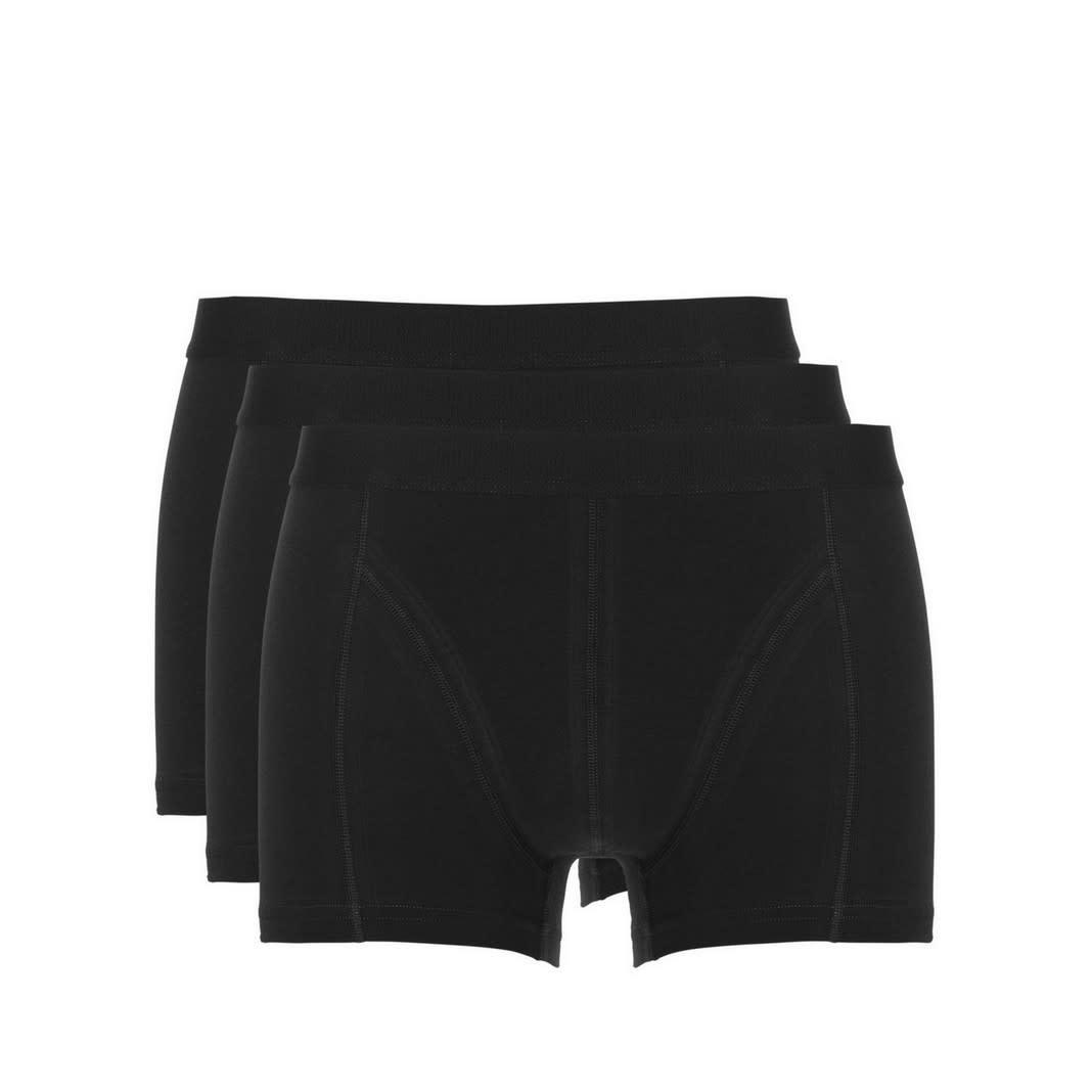 Short Basic 3-Pack 30222 - zwart-1