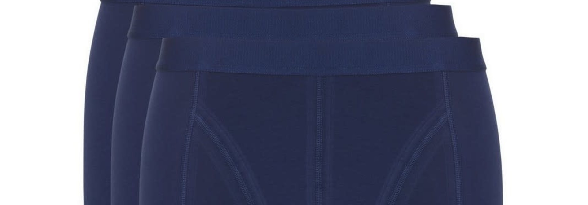 Short Basic 3-Pack 30222 - blauw