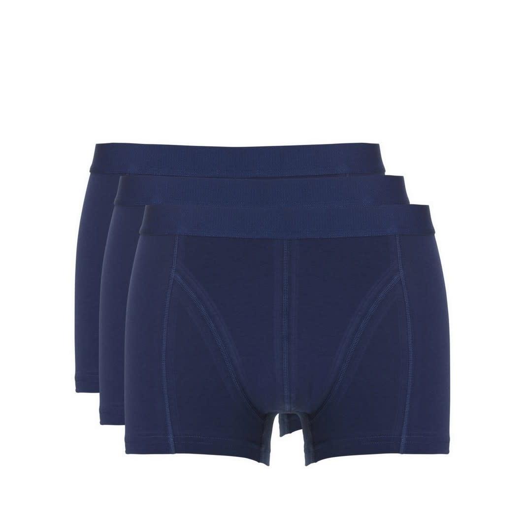 Short Basic 3-Pack 30222 - blauw-1