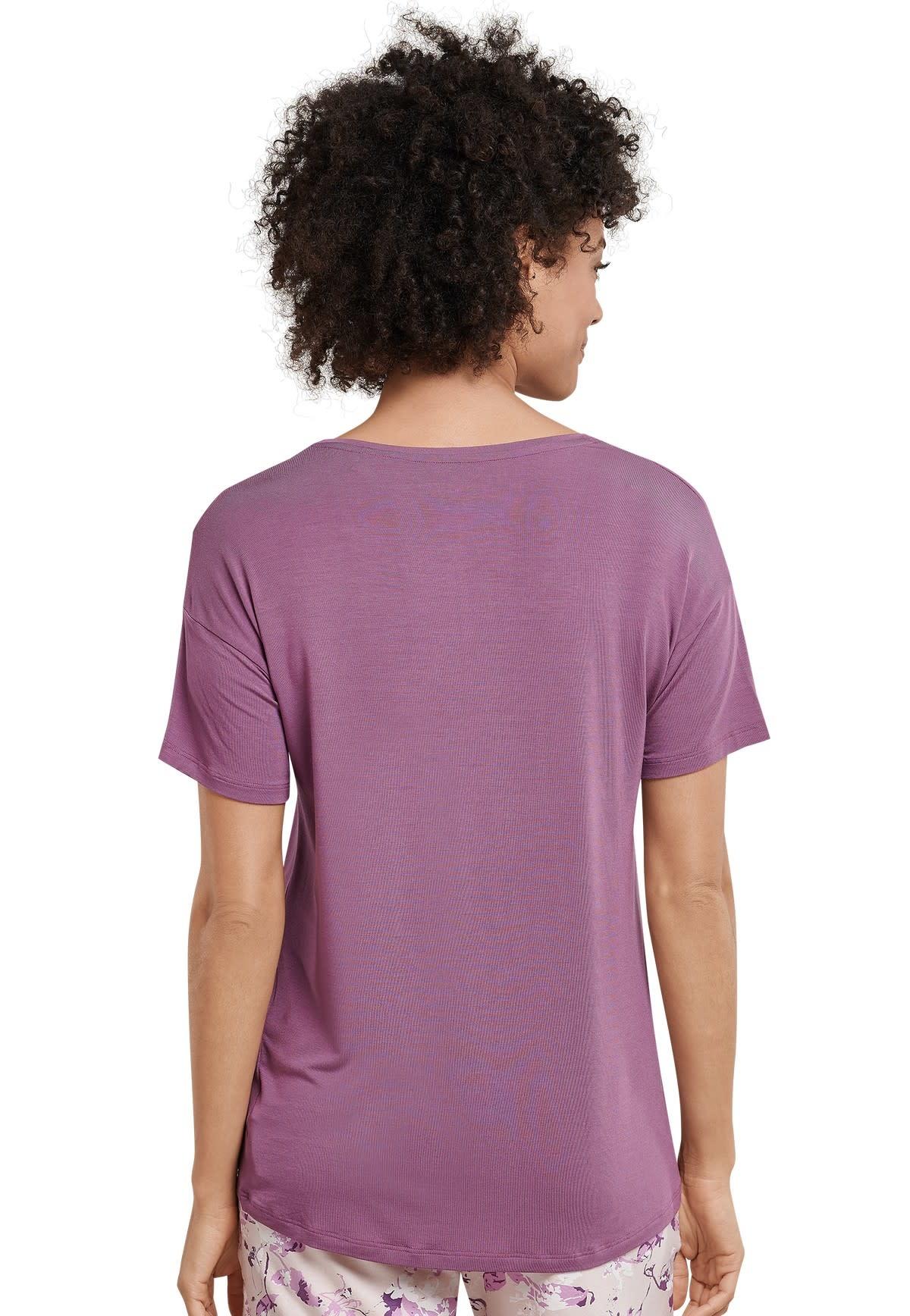 Shirt korte mouw Mix & Match 165664 - berry-2