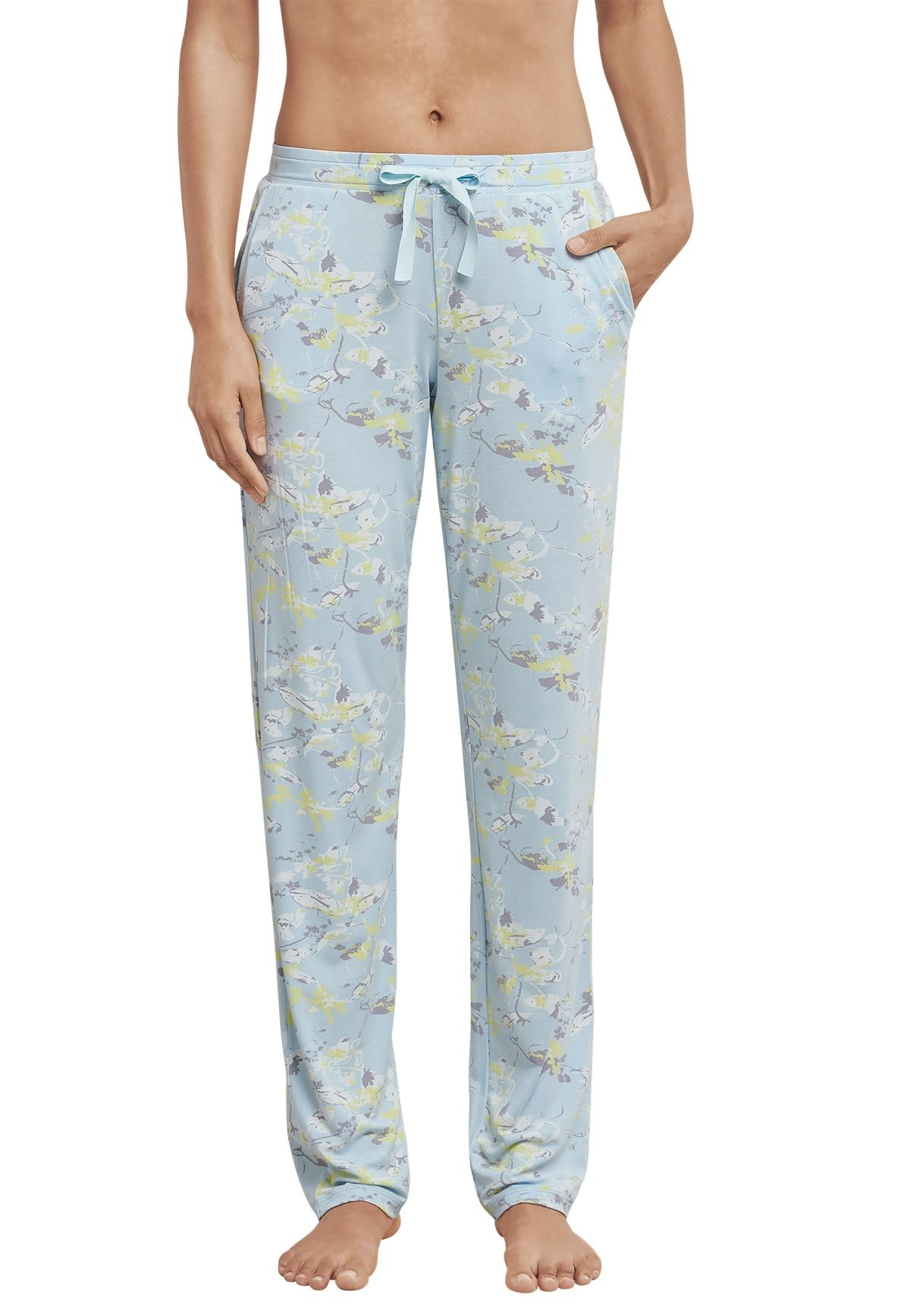 Pyjamabroek Mix & Match 169517 - lichtblauw-1