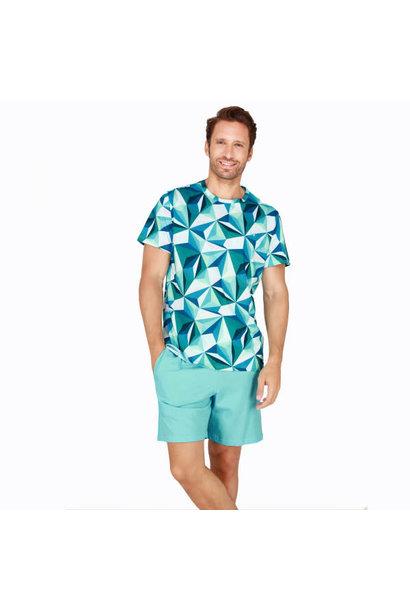 Pyjama korte mouw Diamant 401680