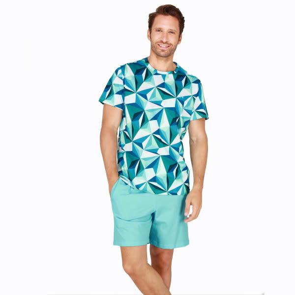 Pyjama korte mouw Diamant 401680-1