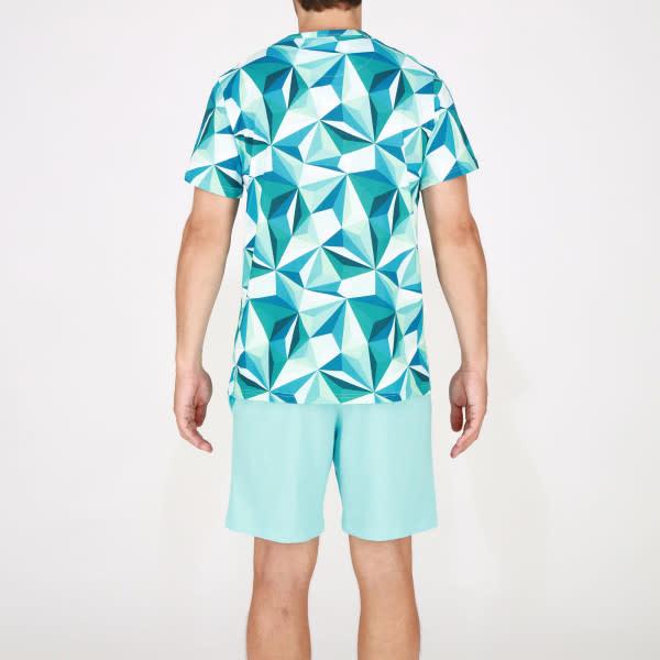 Pyjama korte mouw Diamant 401680-2