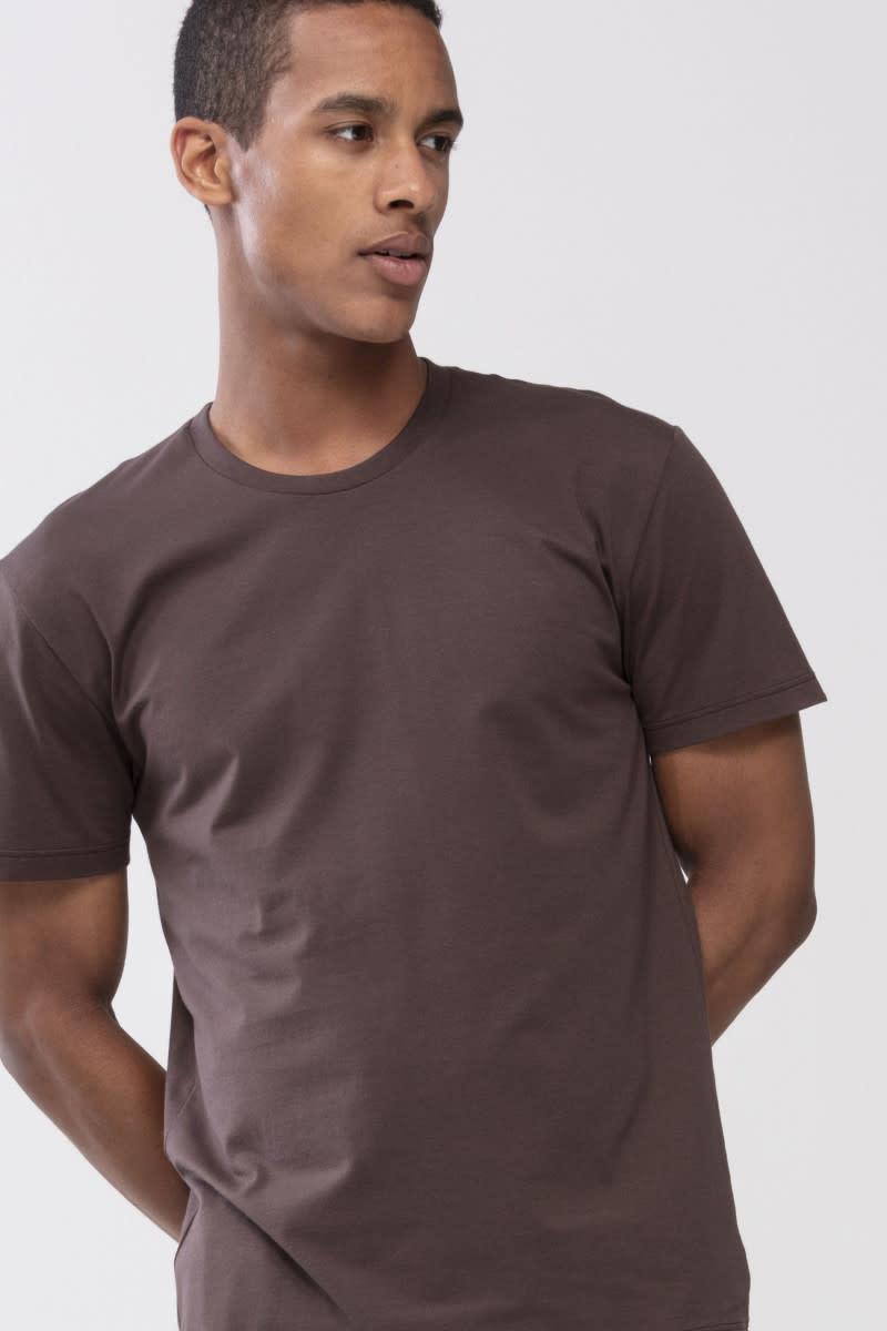 T-shirt ronde hals Dry Cotton 46502 - bruin-3
