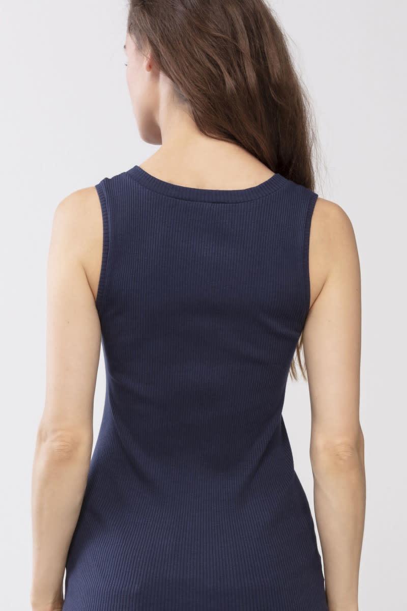 Hemd Cotton Rib 25516 - donkerblauw-2