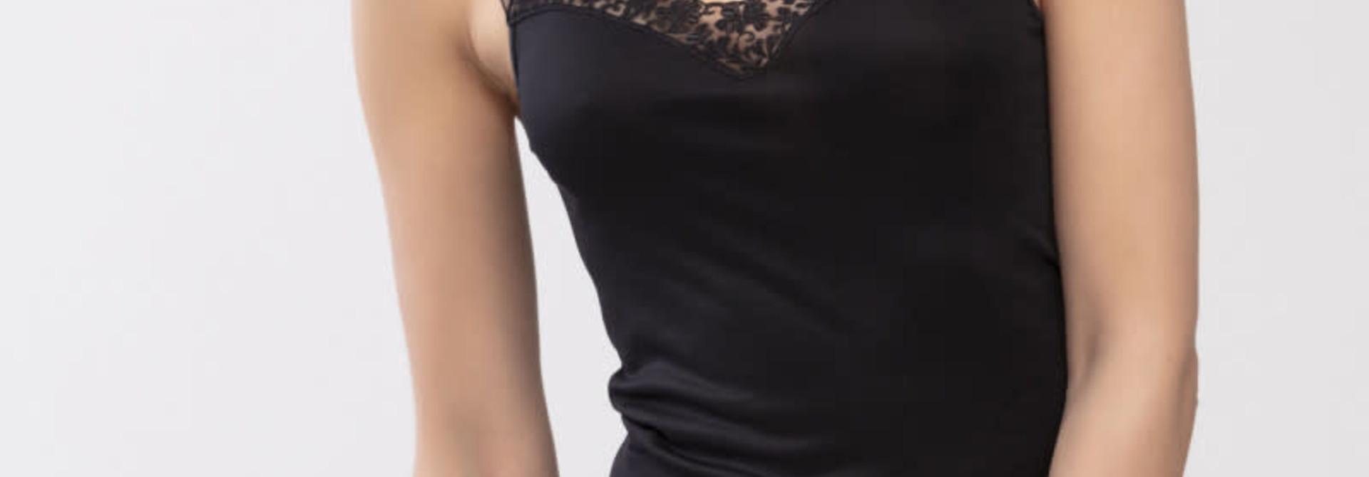 Hemd met kant Emotion Silhouette 55452- zwart
