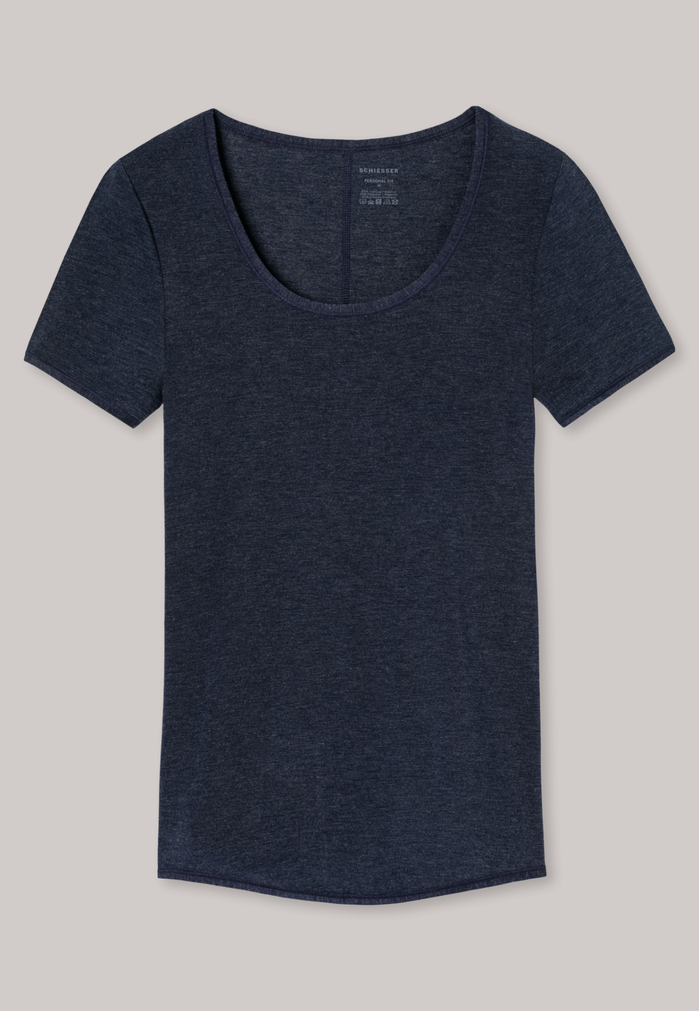 T-shirt Personal Fit 155413 - nachtblauw-3