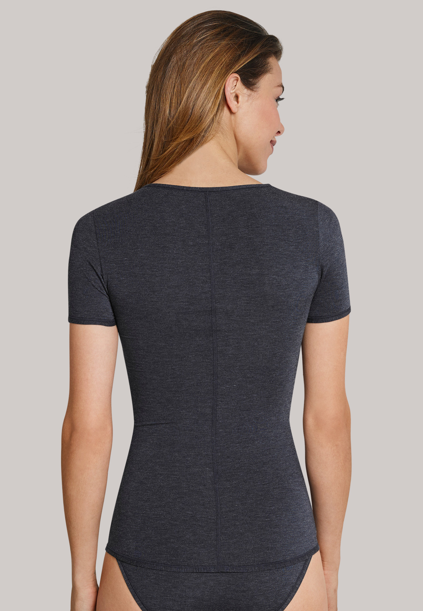 T-shirt Personal Fit 155413 - nachtblauw-2