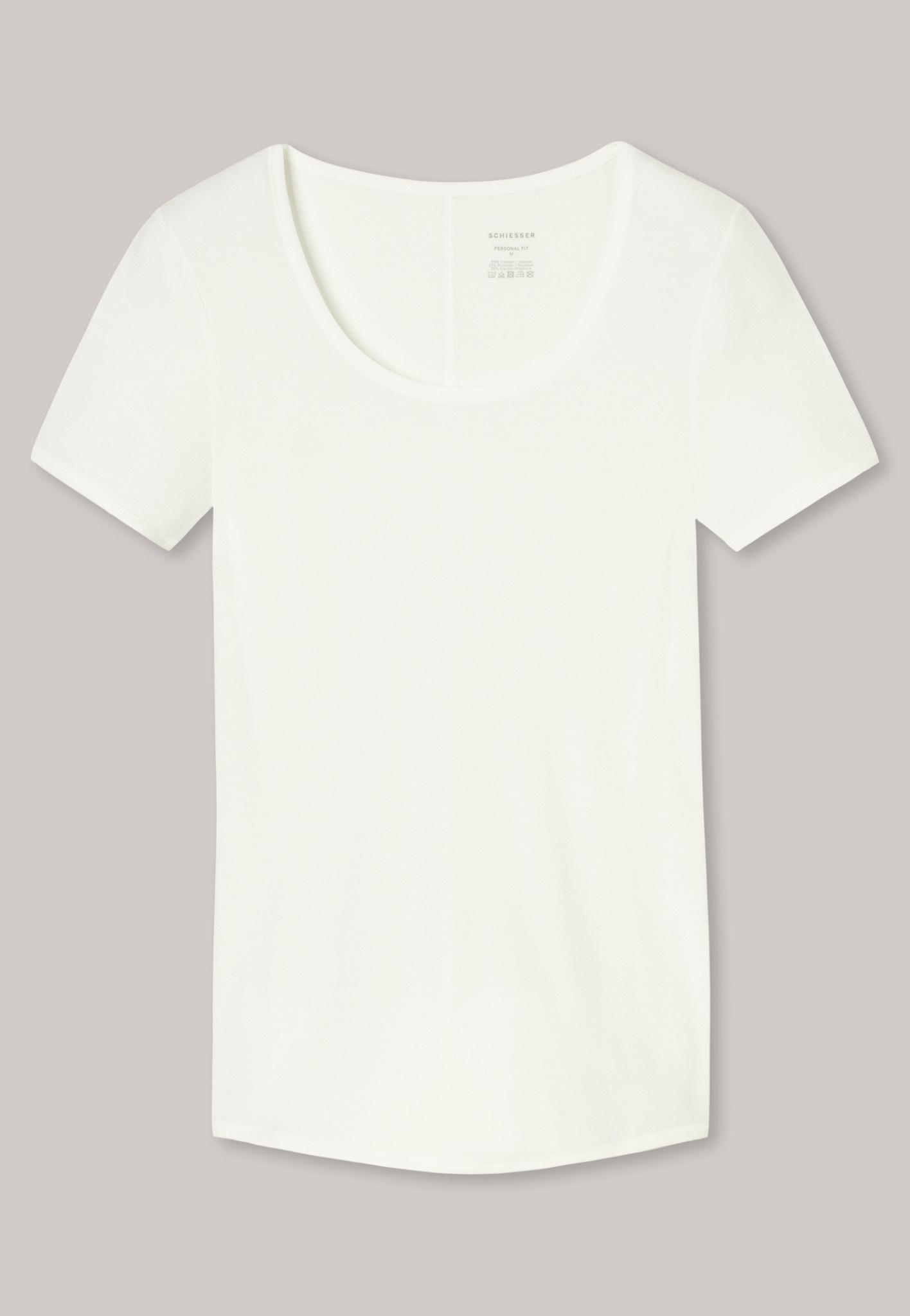 T-shirt Personal Fit 155413 - offwhite-3