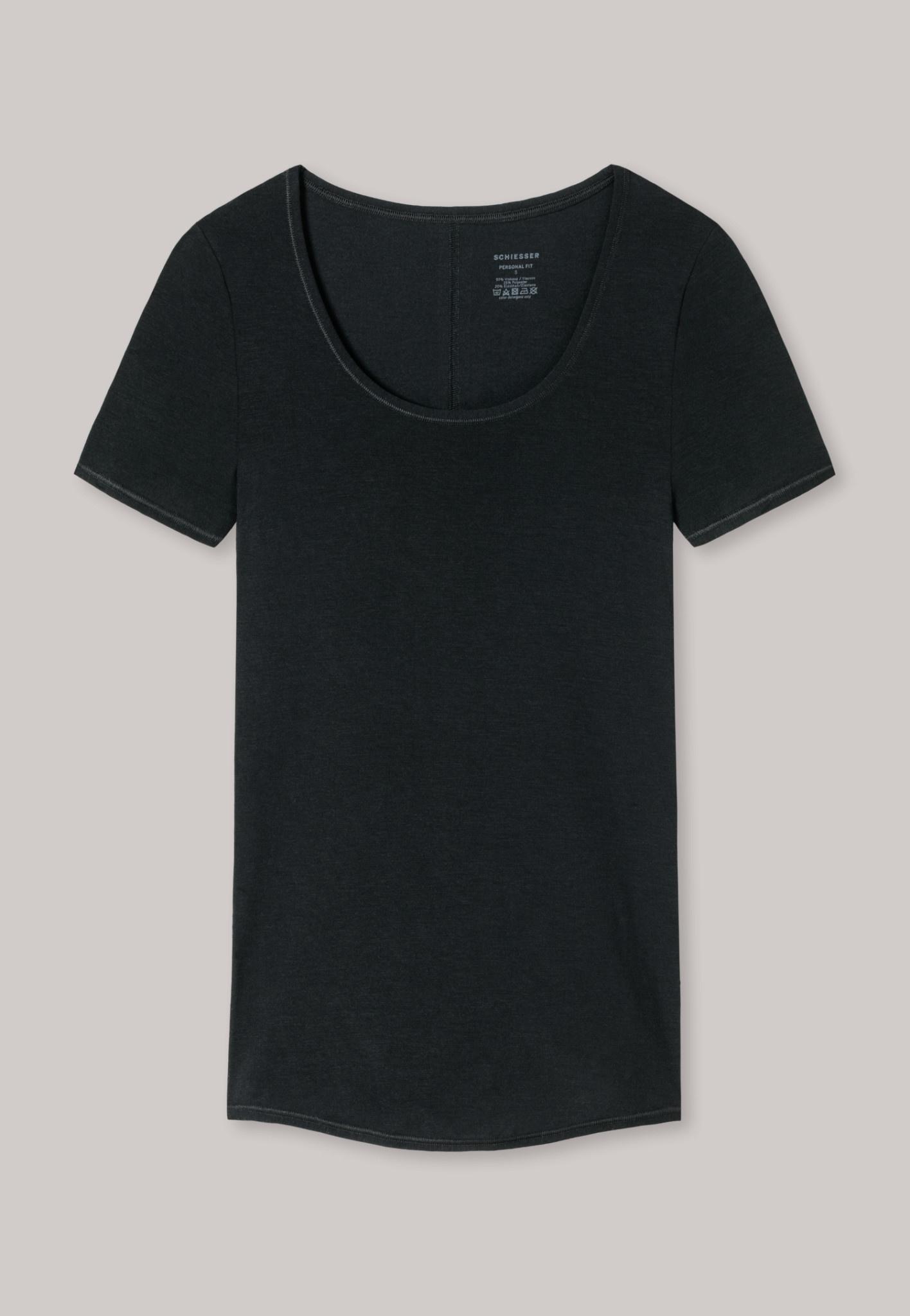 T-shirt Personal Fit 155413 - zwart-3