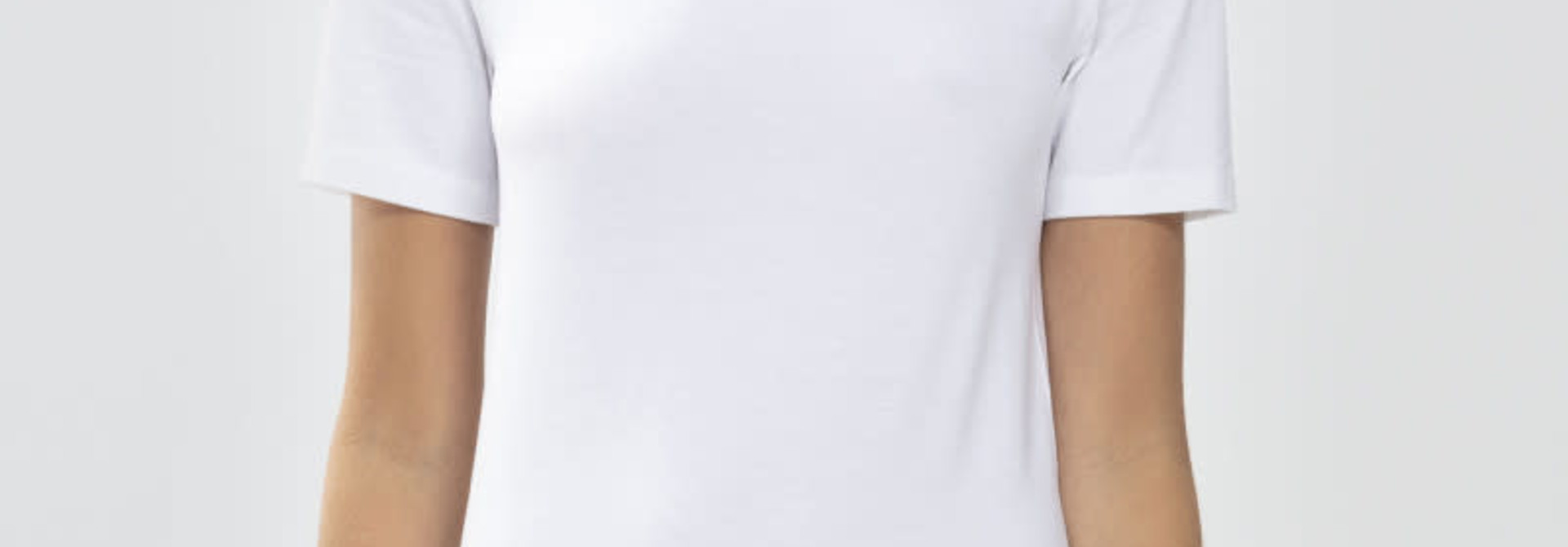 T-shirt Organic 26815 - wit