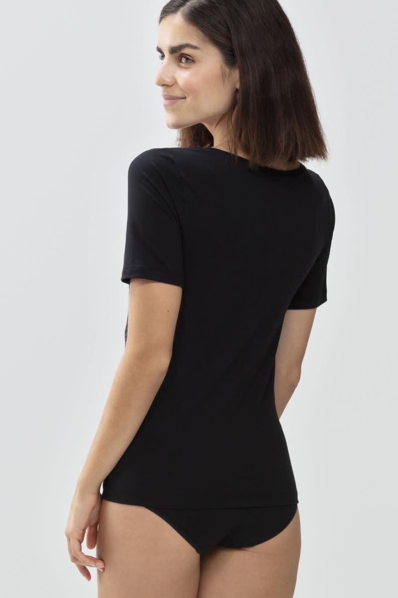 T-shirt Organic 26815 - zwart-2
