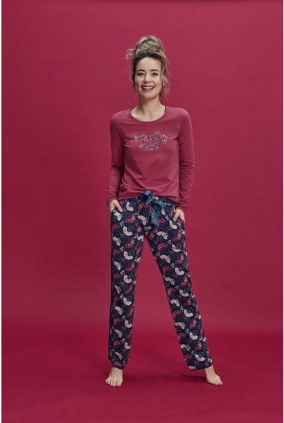 Pyjama lange mouw 37108