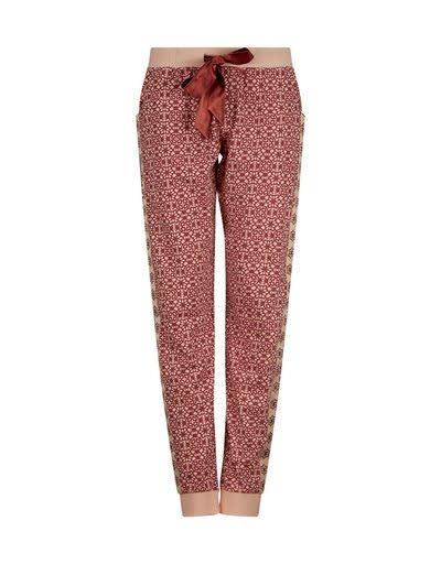 Pyjama lange mouw 37111 - donkerblauw/rood-3