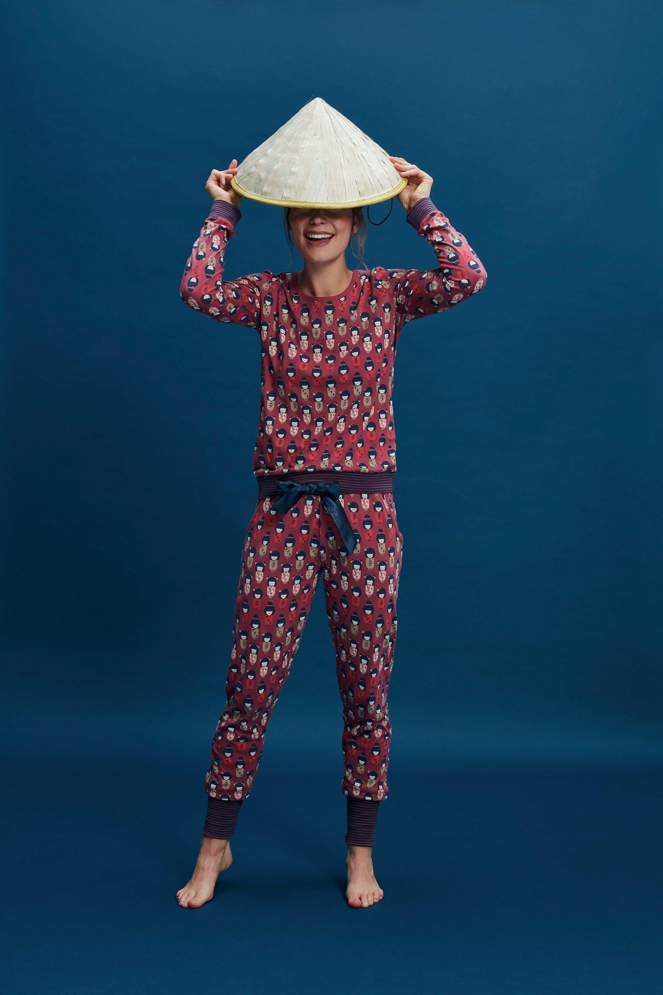 Pyjama lange mouw 37113-1